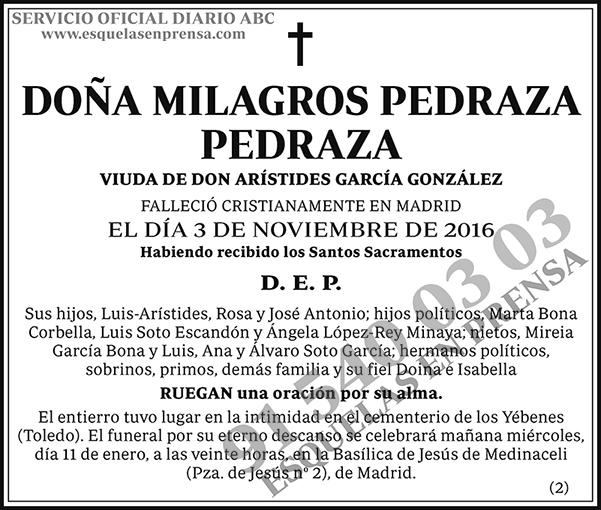 Milagros Pedraza Pedraza